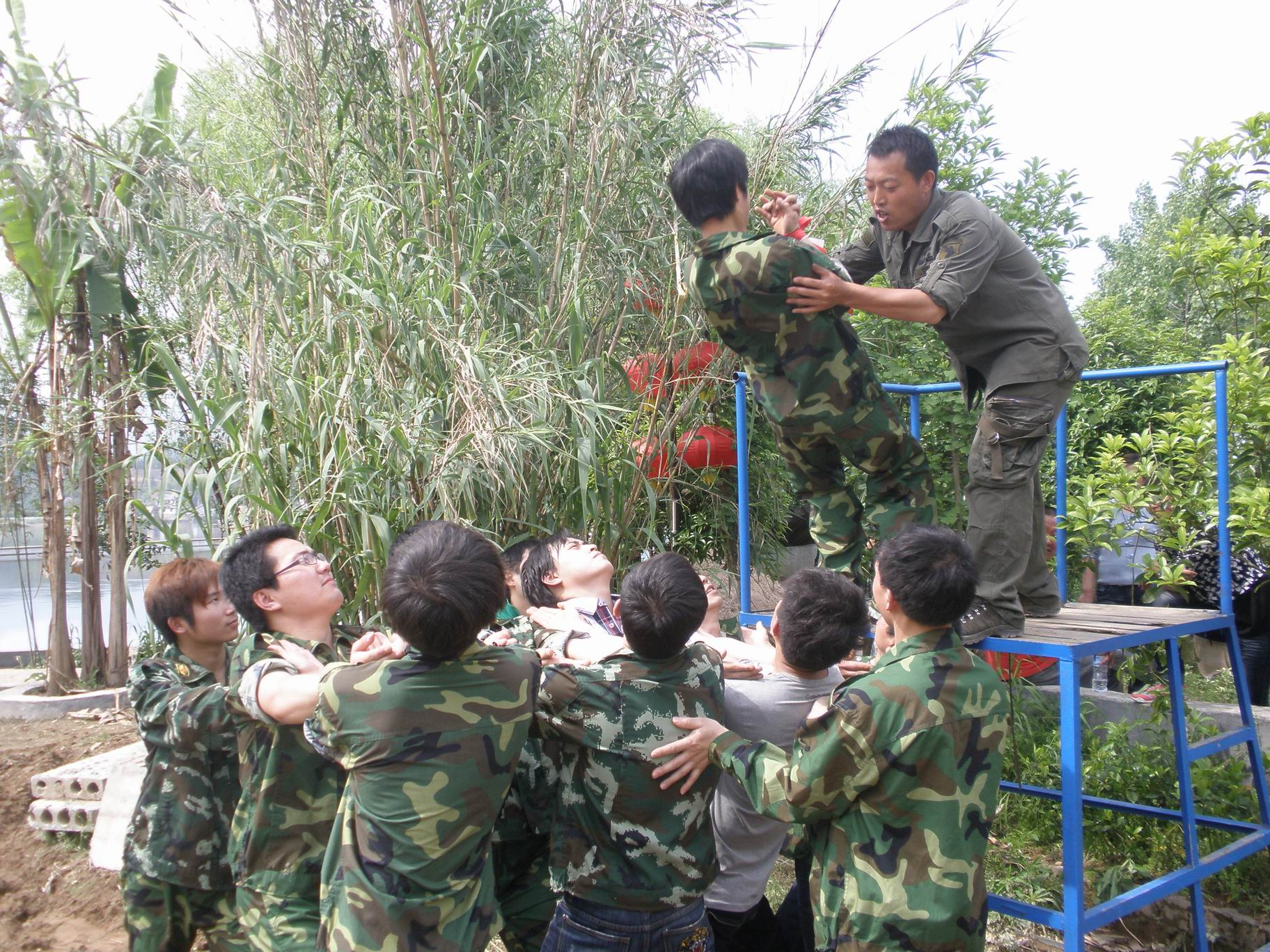 Outdoor expand training in 2012